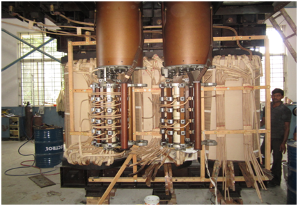 NGEF Furnace Transformer 16MVA Final Assembly with OLTCs